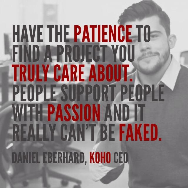 Daniel Eberhard quote