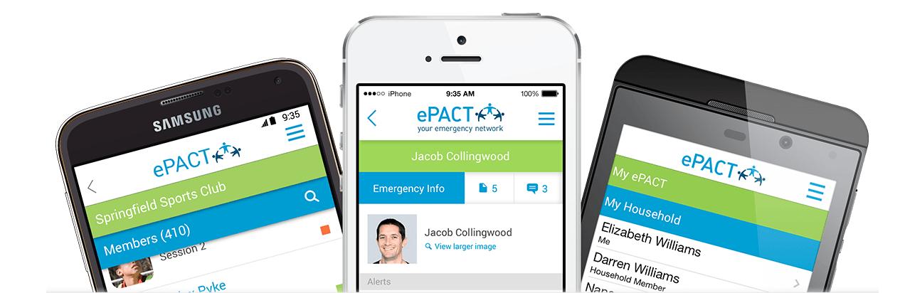 ePACT mobile app