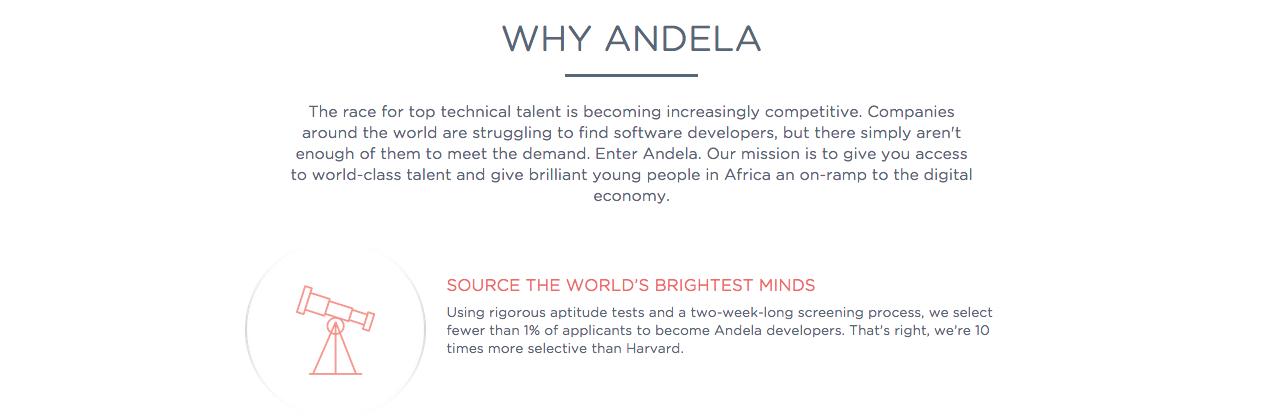 Andela screenshot2