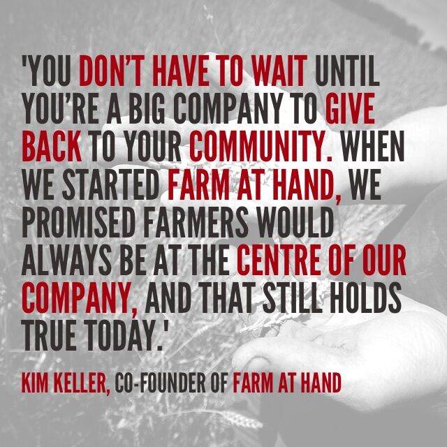 farm at hand quote