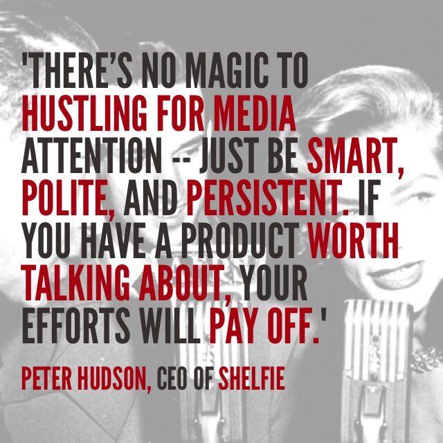 shelfie pr quote