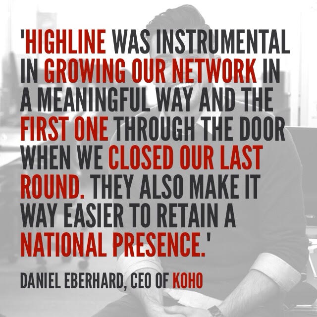 Dan HIGHLINE quote