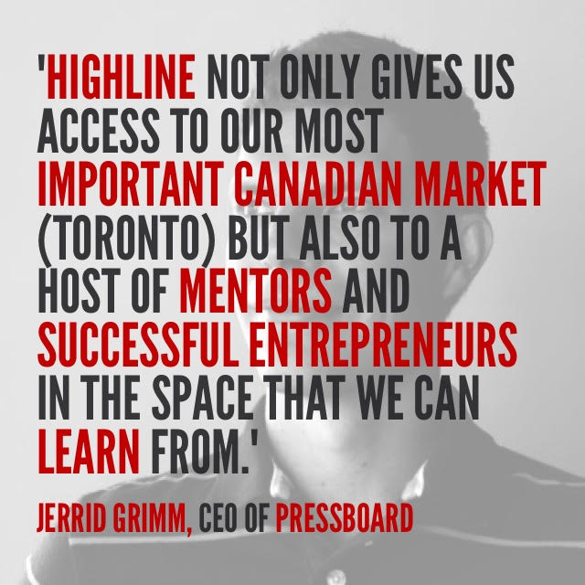 Jerrid quote HIGHLINE
